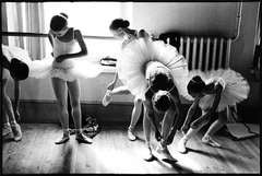 Young Vaganova Students Getting Ready, St. Petersburg Russia