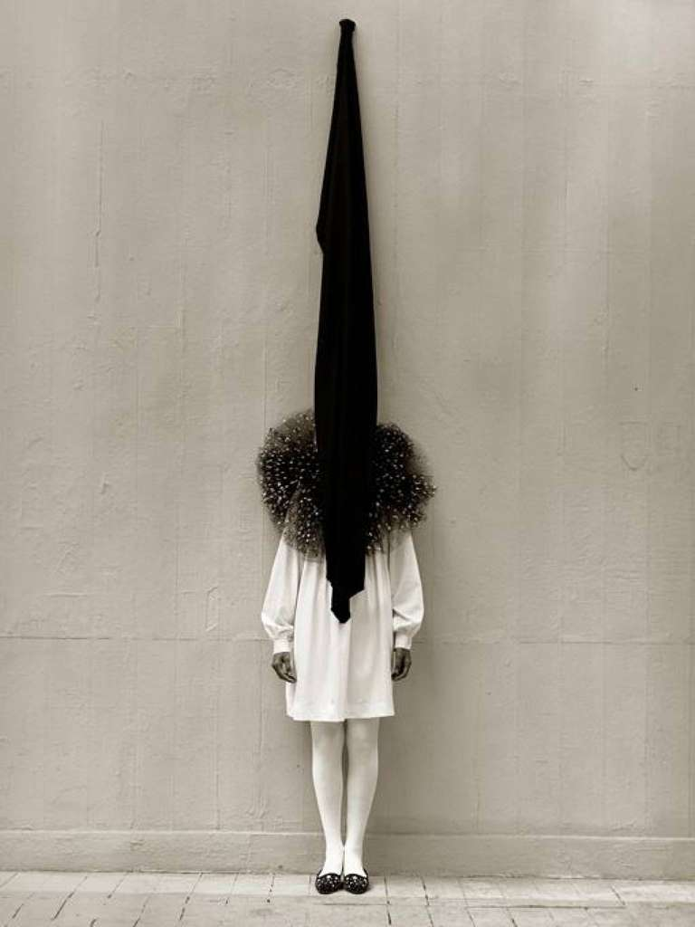 Leslie Weiner in Yohji Yamamoto, London