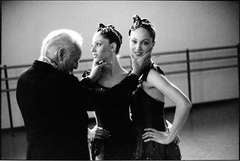 George Balanchine with The Roy Sisters