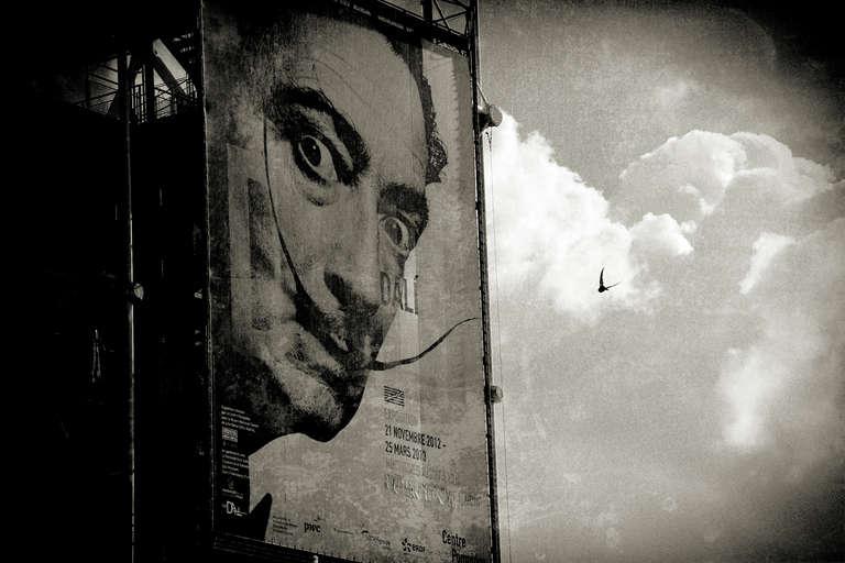 Salvador Dali in Paris, France, Europe