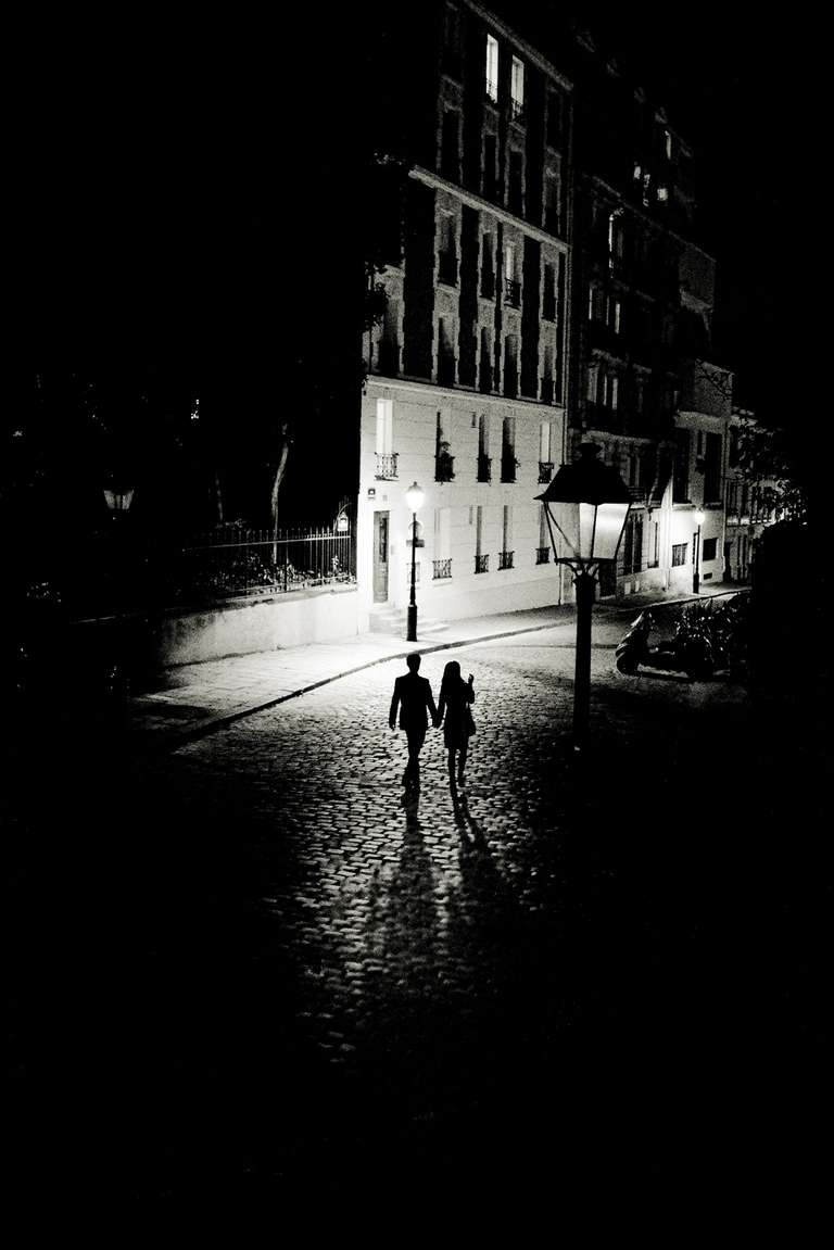 Lovers in Paris, France, Europe