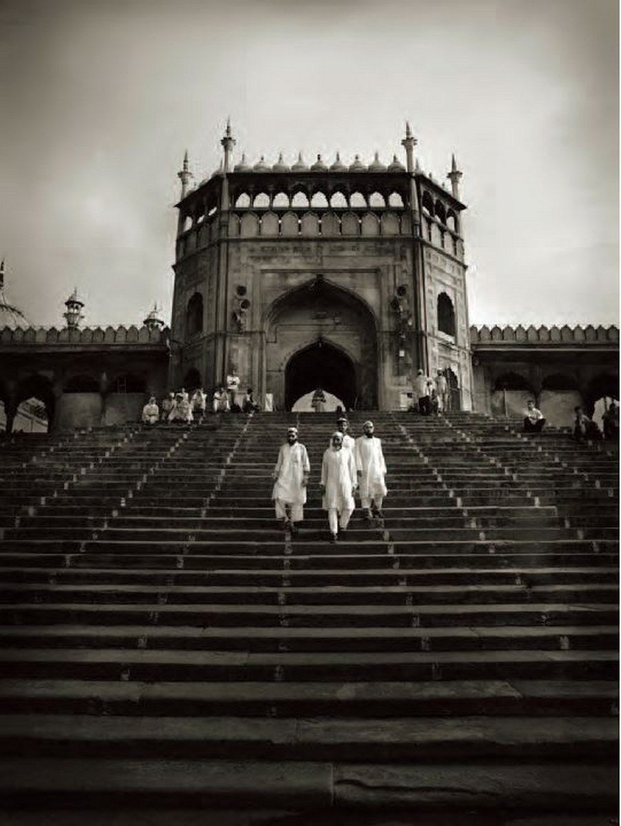 Andreas H. Bitesnich Landscape Photograph - Entrance Gate of Jama Masjid Dehli