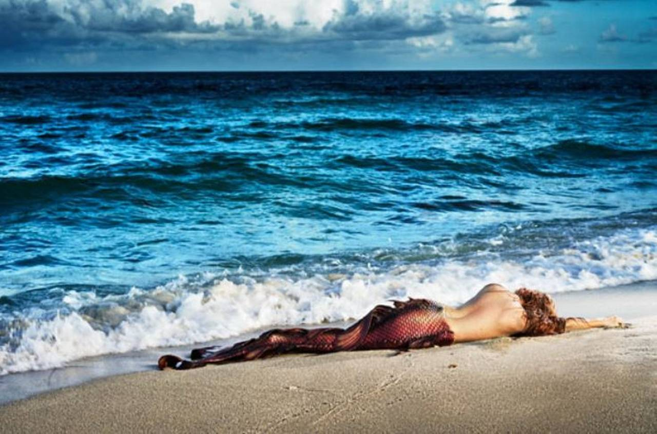 David Drebin Landscape Photograph - Mermaid in Paradise I
