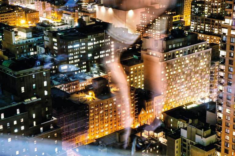David Drebin Landscape Photograph - Flashing the City