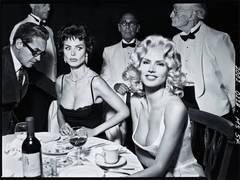 Heidi Klum as Sophia Loren and Jayne Mansfield