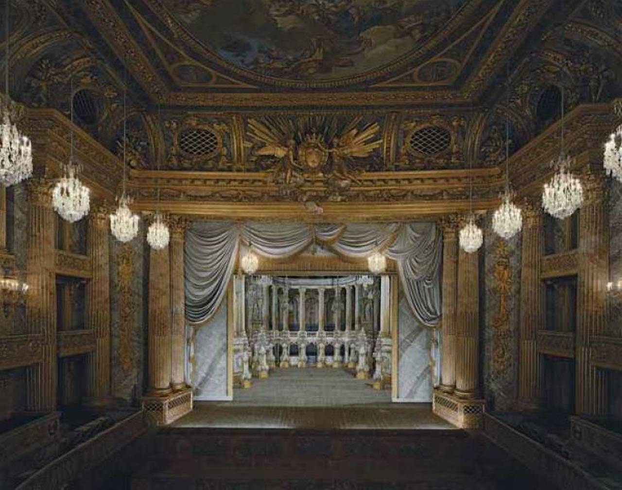Robert Polidori The Royal Opera Chateau De Versailles Photograph For Sale At 1stdibs