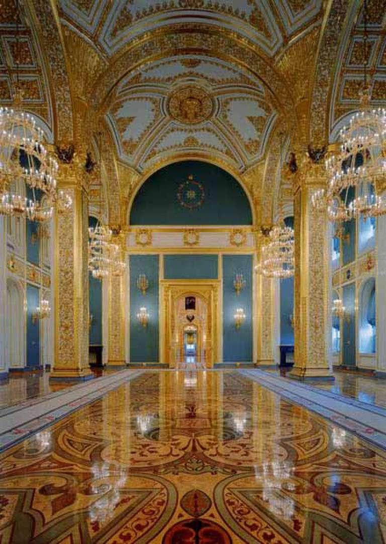 Robert Polidori Color Photograph - St. Andrew's Room, Kremlin