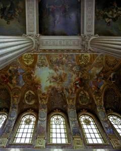 Ceiling, La Chapelle, Chateau de Versailles