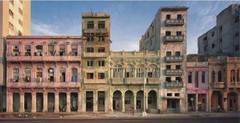 Facades, El Malecon, No.1, Havana, Cuba