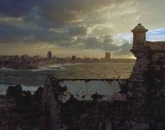 Havana from the Castillo del Morro, Havana Cuba