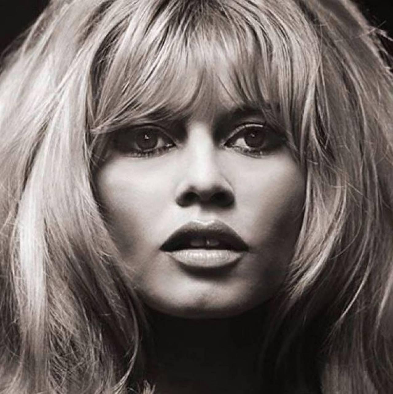 Douglas Kirkland Portrait Photograph - Brigitte Bardot