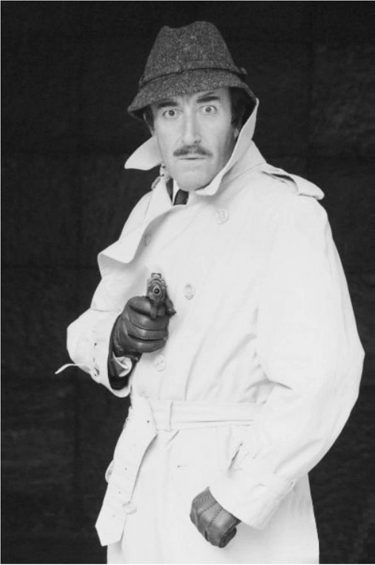 Terry O'Neill Black and White Photograph - Peter Sellers - The Pink Panther