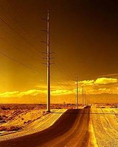 Electrical Pylons, Road yet to be named, outside Las Vegas