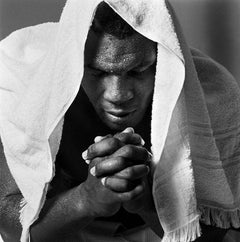 Mike Tyson Training Camp - Portrait of the praying boxing legend