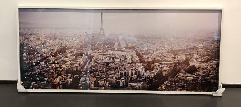 Balloons over Paris - Photograph by David Drebin