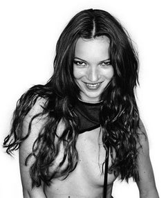 Cheeky Kate - nude portrait of supermodel and icon Kate Moss.