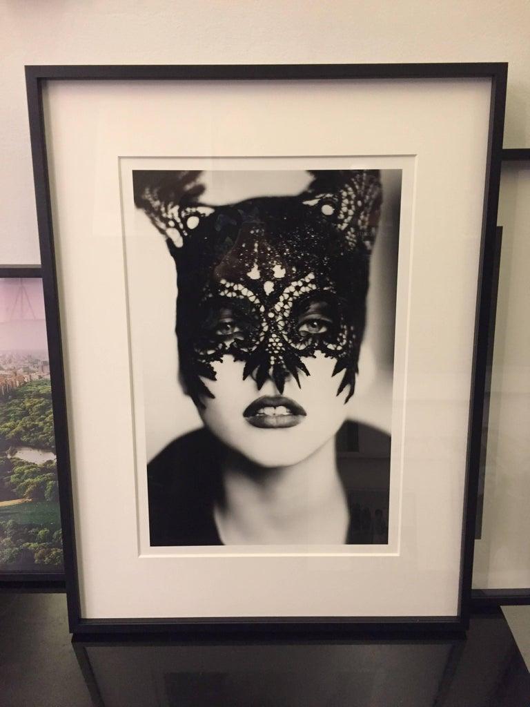 The Mask (Nadja Auermann) - Photograph by Ellen von Unwerth