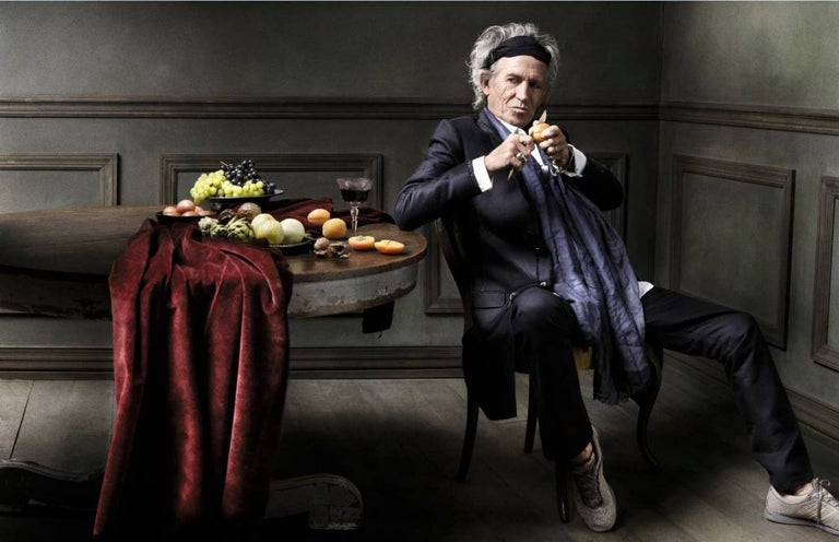 Mark Seliger Color Photograph - Keith Richards, New York City
