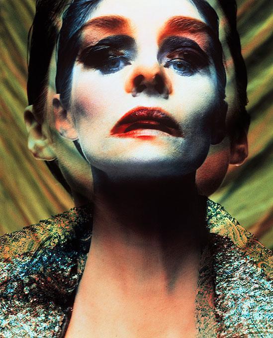 Charlotte Rampling, Vogue Brazil - portrait of the French movie star