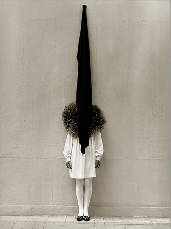 Leslie Winer in Yohji Yamamoto, London