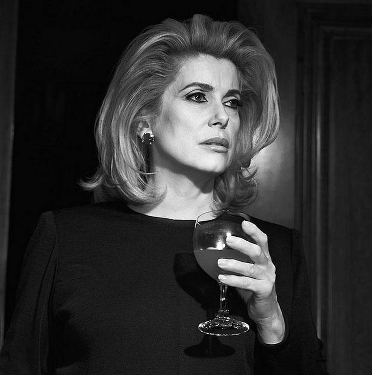 Michel Comte - Catherine Deneuve 1