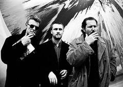 David Bowie, Damien Hirst, Julian Schnabel, New York