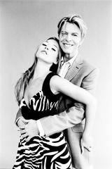 David Bowie and Kate Moss