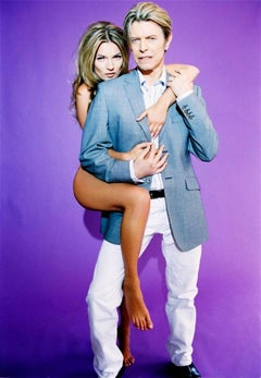 David Bowie and Kate Moss IV