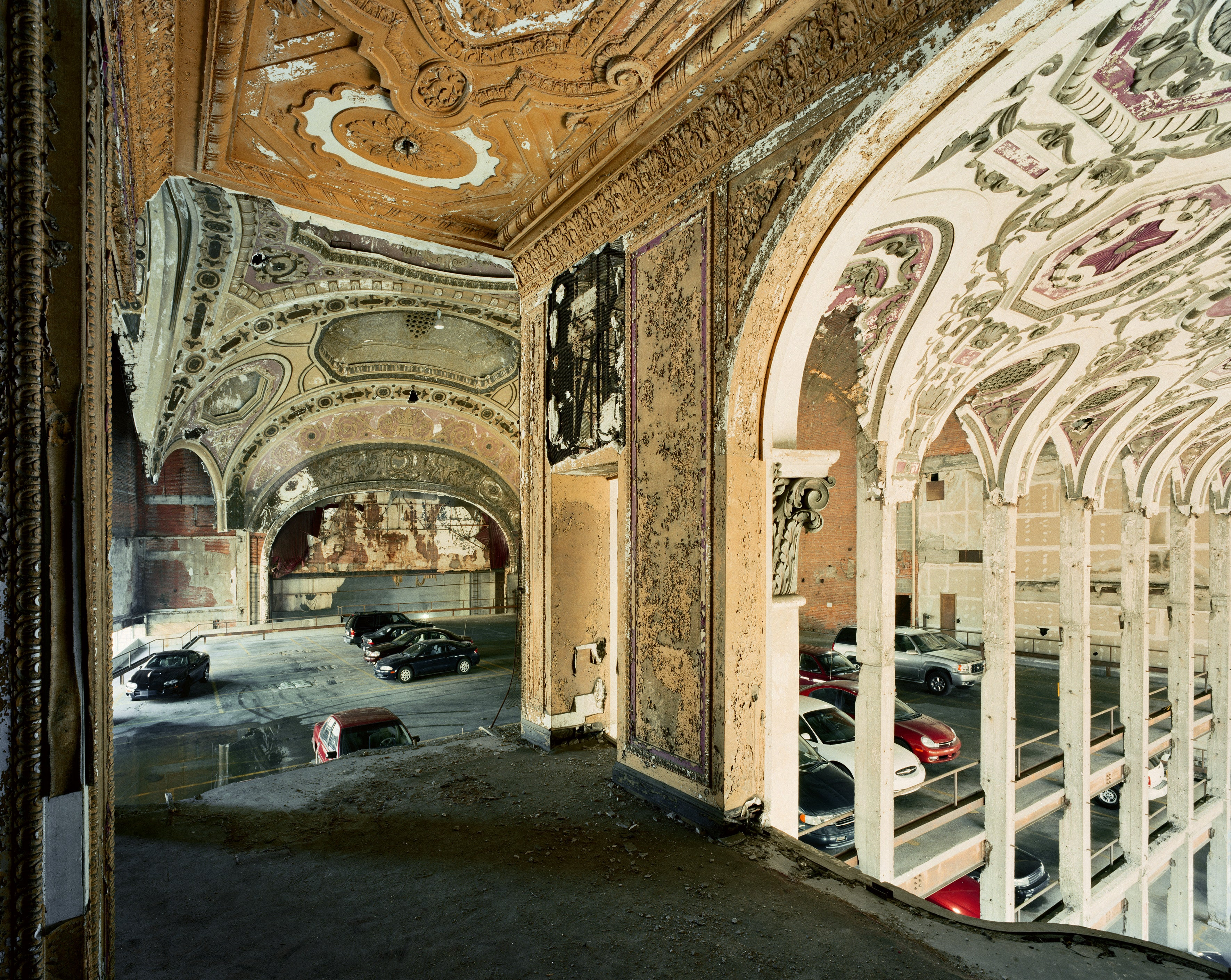 Robert Polidori - Michigan Theater Parking Garage, Detroit ...