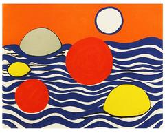 Alexander Calder - Circles and waves