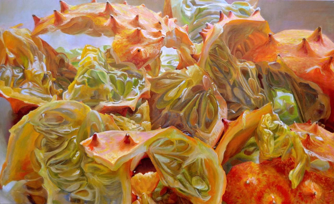 Andrea Kantrowitz Myriad Ravines Large Food Kiwano Melon African