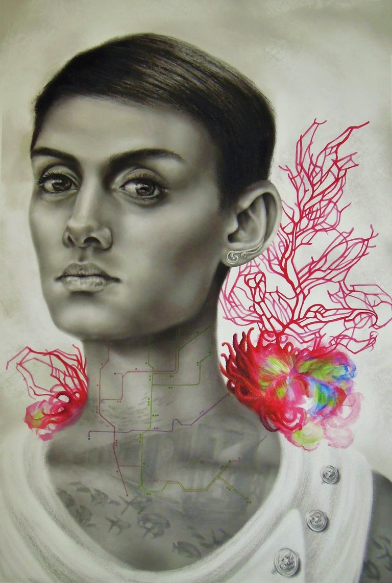 Red Bird Reef, Strong Portrait of Woman, NYC Subway and Red Coral Reef