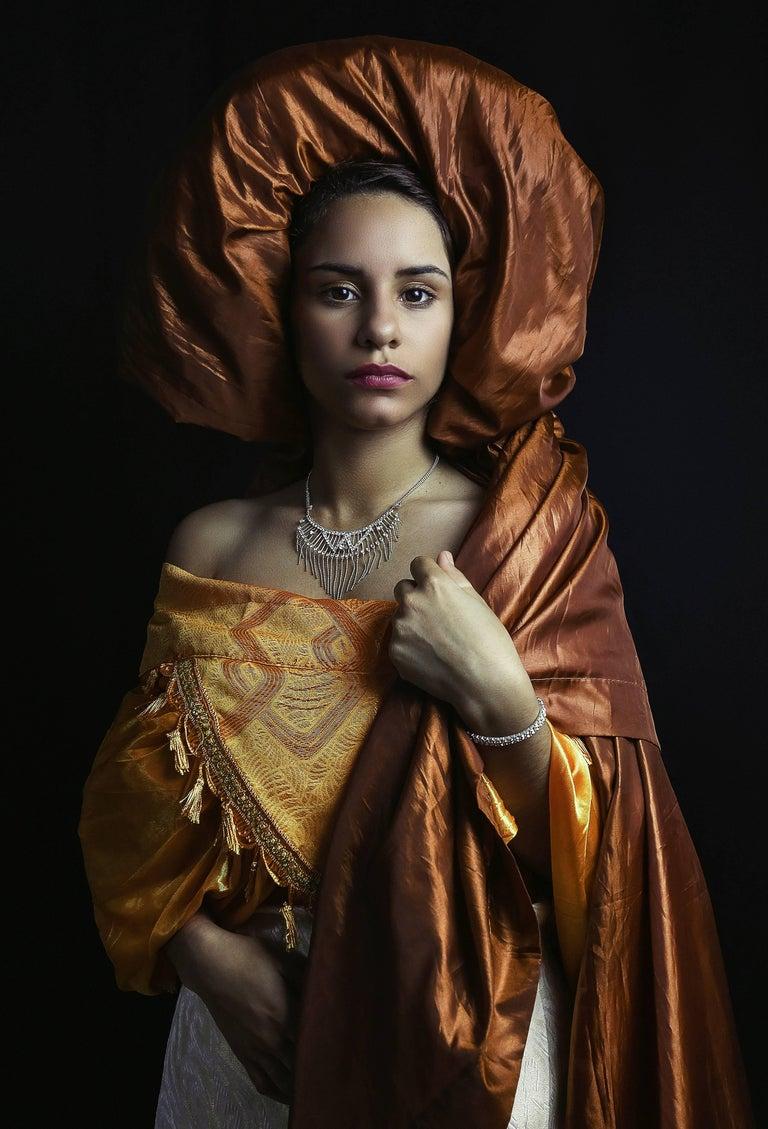 Carlos Gamez De Francisco Portrait Of A Lady Political Powerful
