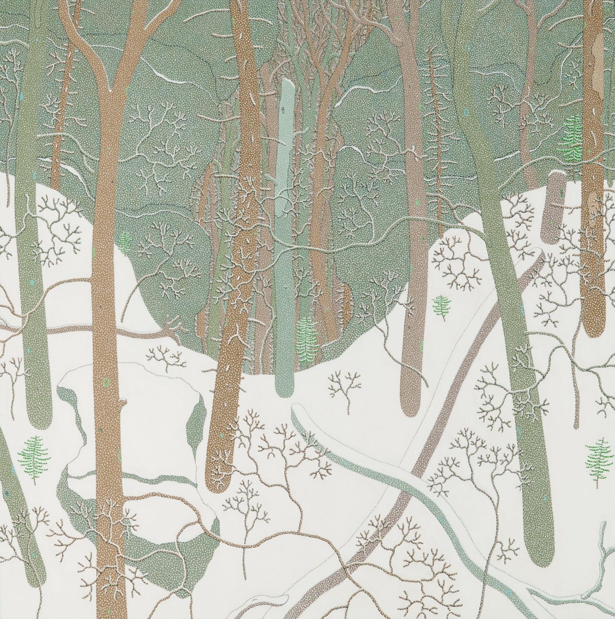 Gregory Hennen Snowfall Jan Wyatt Mt Winter Landscape Of Snowy