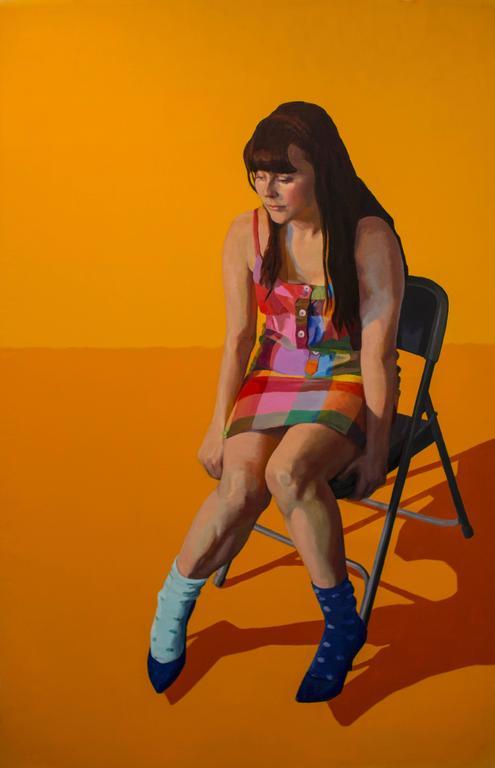 Orange Zara, portrait