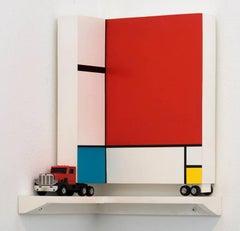 Mondrian Corner Truck