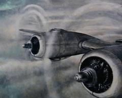 No. 30 from Salon, (Fortune Magazine, 1945), oil painting