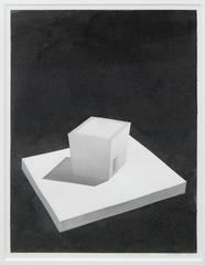 Peter Lodato - Study for Sculpture, drawint