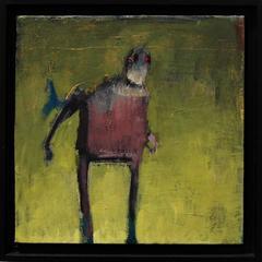 Untitled, acrylic painting