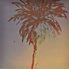 Palm Tree Monoprint 3