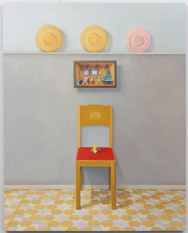 Heirlooms, oil painting