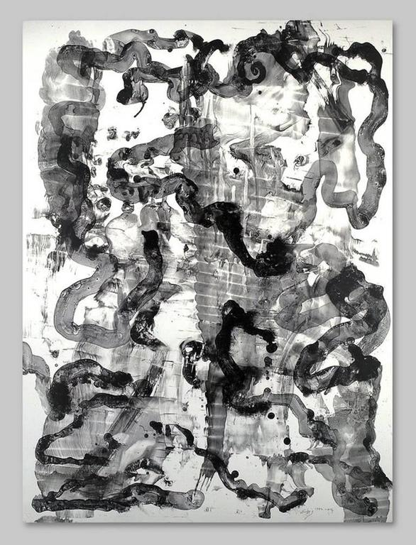 Untitled Abstraction V, lithograph
