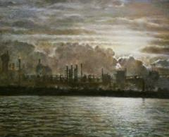 Panel No. 31, Ruhr 1936, painting