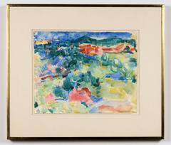 Untitled, landscape painting