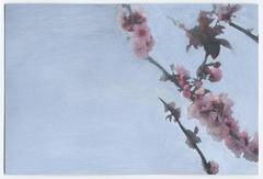 Framing Foliage: Thinking of You, acrylic painting