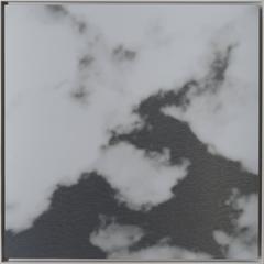 Kumo (cloud) 25.25.5, aluminum painting