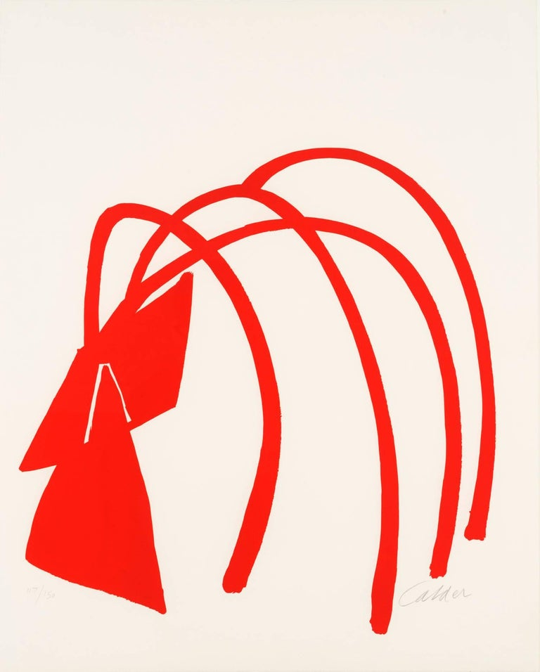 Alexander Calder Abstract Print - Four Arches