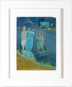 Dresses at the Sea