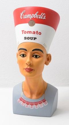Warhol Nefertete (Campbell's Soup)