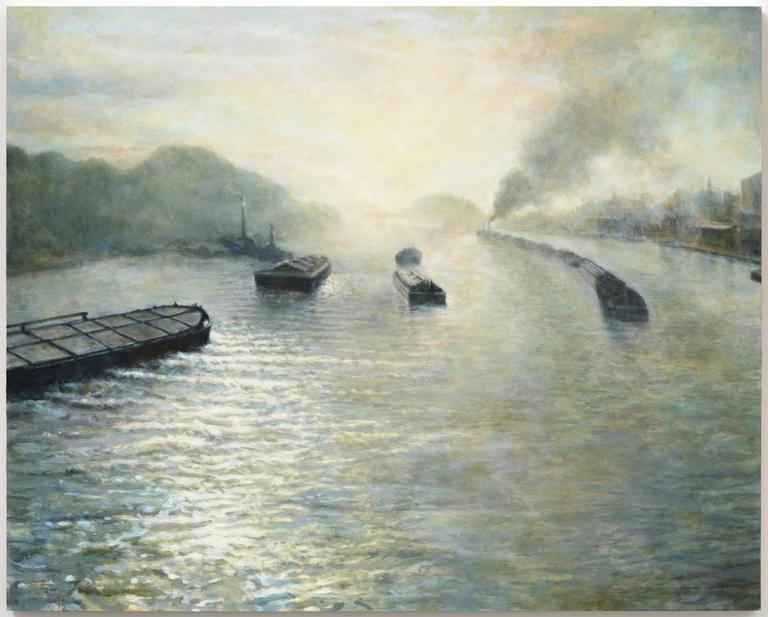Hamburg 1941 (Lethe), oil painting